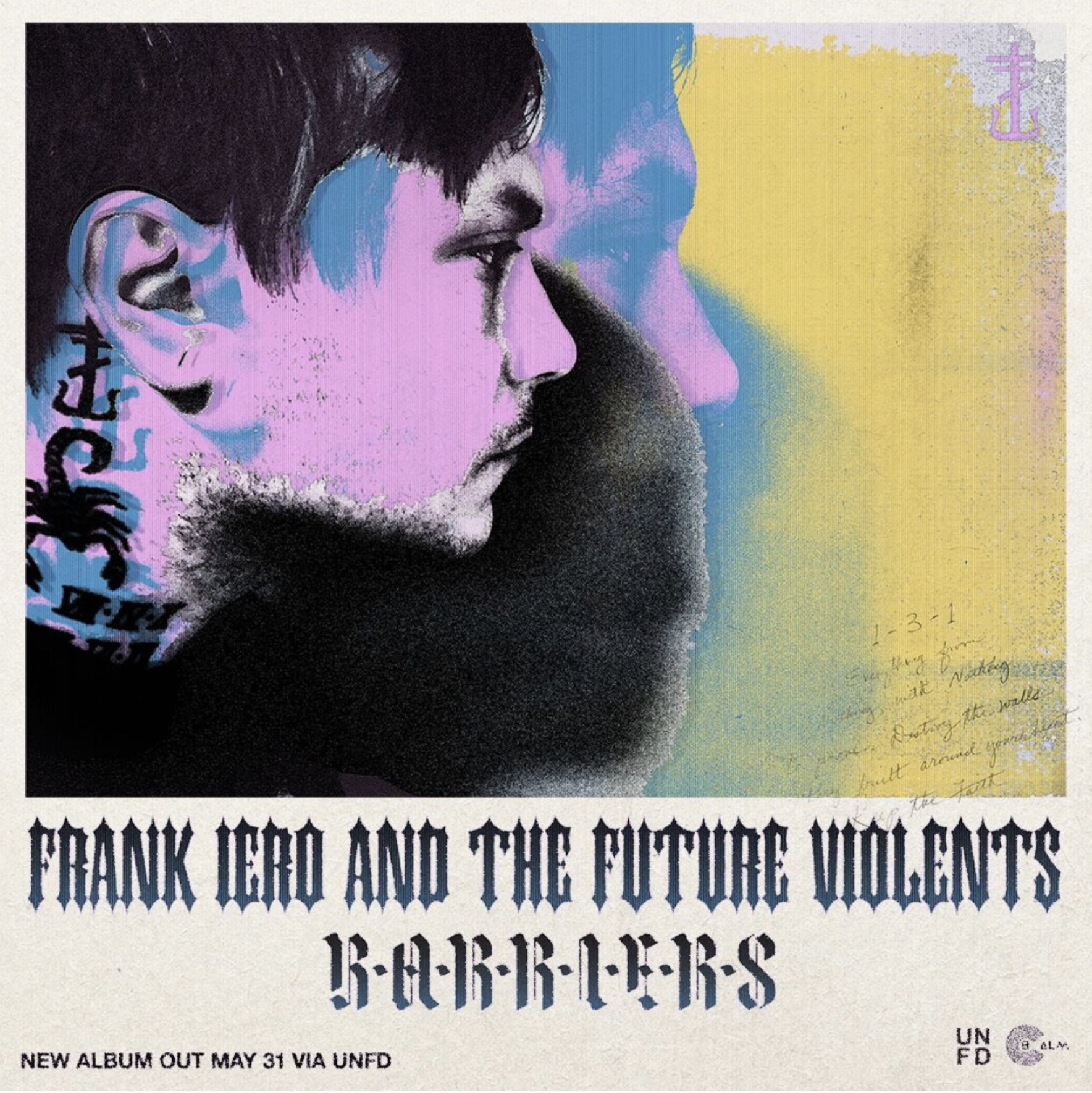 frank iero and the future violents, barriers
